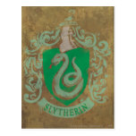 Slytherin Crest HPE6 Post Card