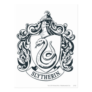 Slytherin Crest Post Card