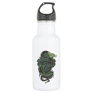 SLYTHERIN™ Crest Stainless Steel Water Bottle