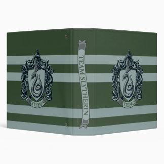Slytherin Crest Vinyl Binders