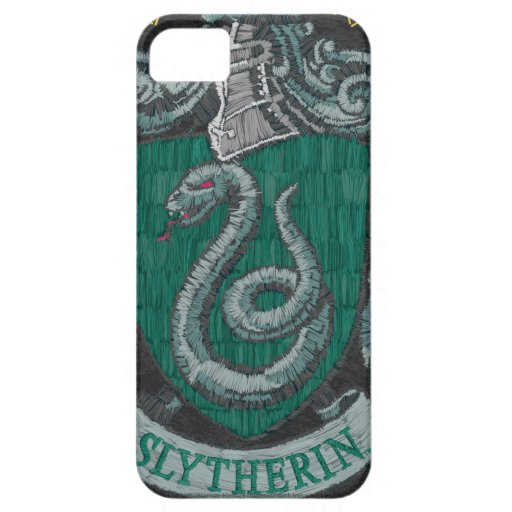 Slytherin Destroyed Crest iPhone 5 Covers