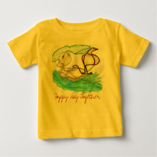 SM083, Happy Day Together - Customized Baby T-Shirt
