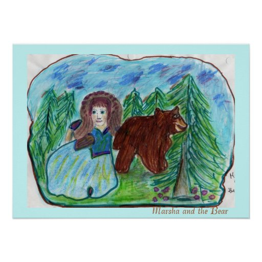 SM170, Marsha and the Bear Print