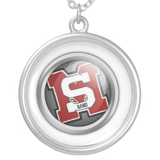 SM band orb Necklace