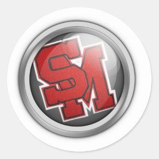 SM orb Sticker