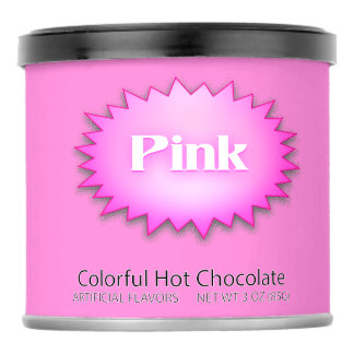 Sm. Pink Hot Chocolate Drink Mix. Powdered Drink Mix
