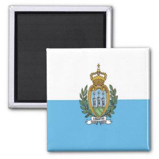 SM - San Marino - Flag Magnet