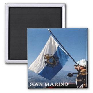 SM - San Marino - Flag San Marinese Magnet
