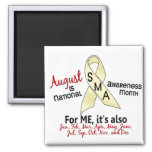 SMA Awareness Month August 2.1 Fridge Magnets