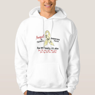 SMA Awareness Month August 2.2 Hoody