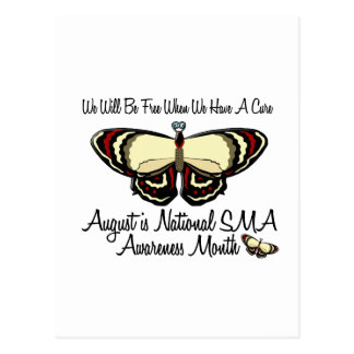 SMA Awareness Month August 3.1 Postcard