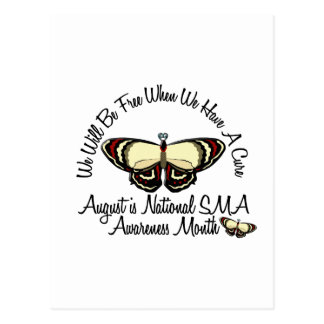 SMA Awareness Month August 3.2 Postcard