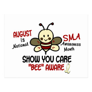 SMA Awareness Month August 4.1 Postcard