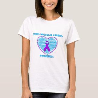 SMA Awareness RIbbon & Heart T-Shirt