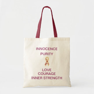 SMA AWARENESS RIBBON MINI TOTE