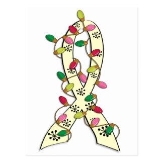SMA Christmas Lights Ribbon Postcard