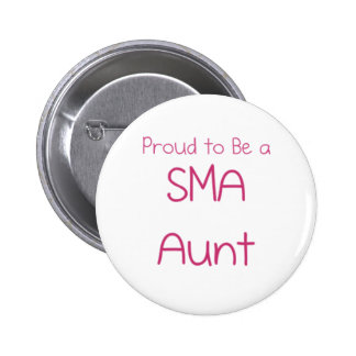 SMA Family - Aunt Pinback Button