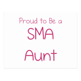 SMA Family - Aunt Post Cards