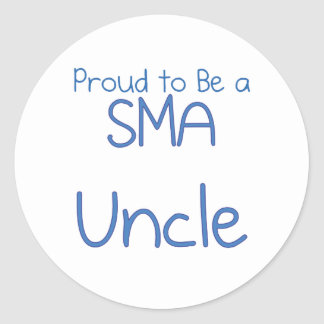 SMA Family - Uncle Round Sticker