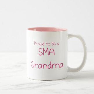 SMA Grandparents Two-Tone Coffee Mug