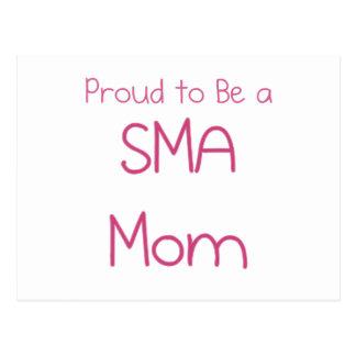 SMA Mom or Mommy Postcard
