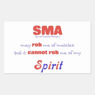 SMA no puede Rob mi alcohol - rojo y azul Rectangular Altavoces