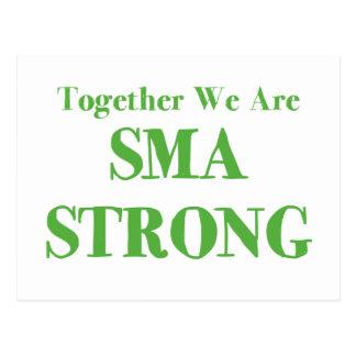 SMA Strong - Green Postcard