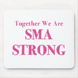 SMA Strong - Pink Mouse Pad