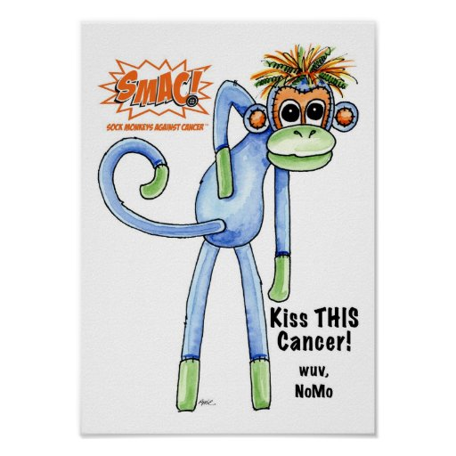 ¡SMAC! Poster del mono - NoMo