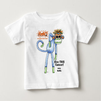 SMAC! Sock Monkeys Against Cancer Illustration Baby T-Shirt