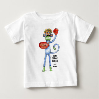 "SMAC! ""Sock Monkeys Against Cancer"" Merchandise Baby T-Shirt"