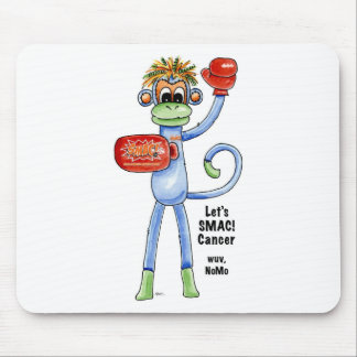 SMAC Sock Monkeys Against Cancer Merchandise Mouse Pads