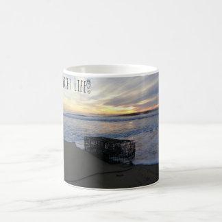 SMAHT LIFE LOBSTER CAGE COFFEE MUG