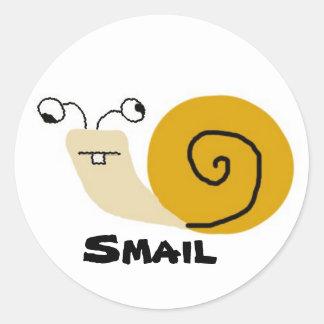 Smail Classic Round Sticker