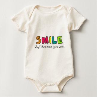 smaile baby bodysuit