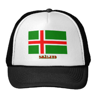 Småland flag with name (unofficial) trucker hat