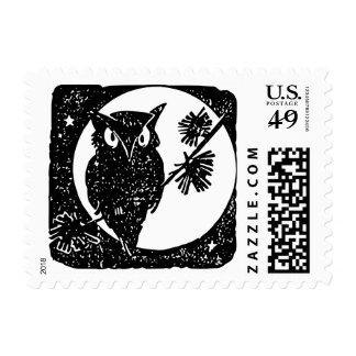 """Small, 1.8"""" x 1.3"""", $0.49 (1st Class 1oz) - Owl Postage"""