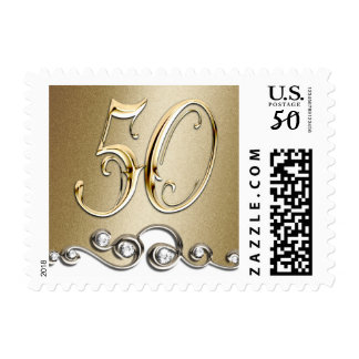 SMALL 50th Anniversary Postage Stamp