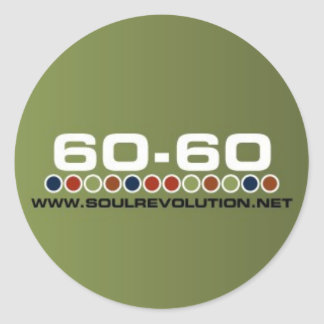 Small 60-60 Sticker