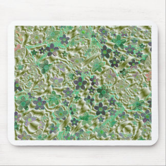 small abstractes colored pattern mouse pad