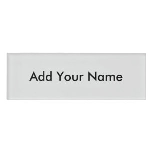Create Your Own Name Tags Zazzle