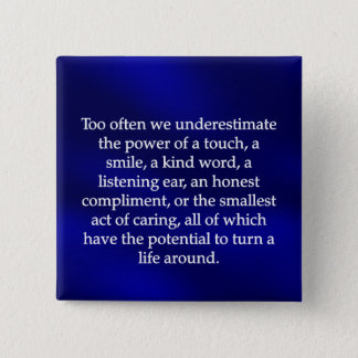 Small Acts of Caring Button