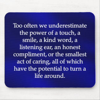 Small Acts of Caring Mouse Pad