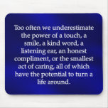 Small Acts of Caring Mousepads