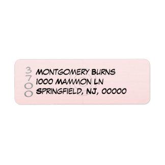 Small - Address Label