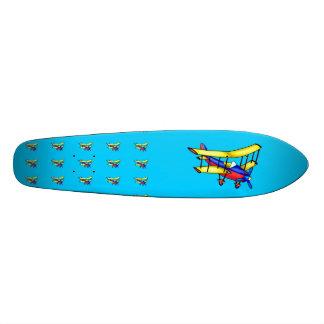 Small airplane skate deck