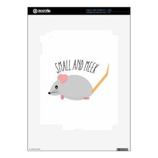 Small And Meek iPad 2 Decals