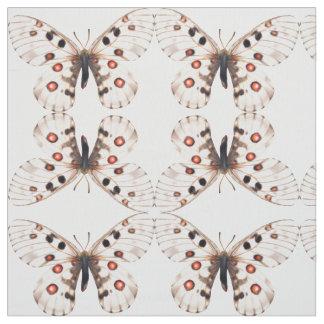 Small Apollo Butterflies Fabric