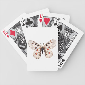 Small Apollo Butterfly Bicycle Playing Cards