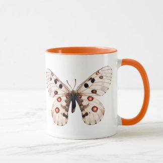 Small Apollo Butterfly Coffee Mug